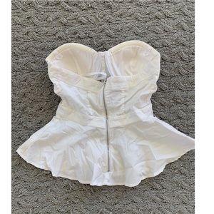bebe Tops - Bebe strapless shirt